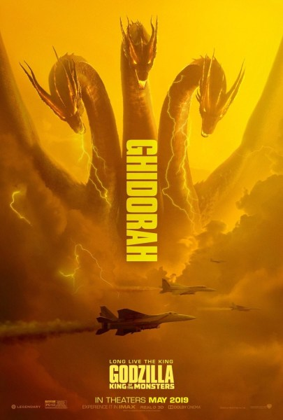 Godzilla King Of Monsters Ghidorah