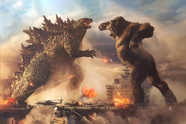 Godzilla Vs Kong Movie (2021) Artwork