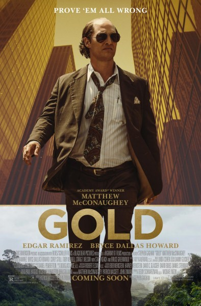 Gold New Poster