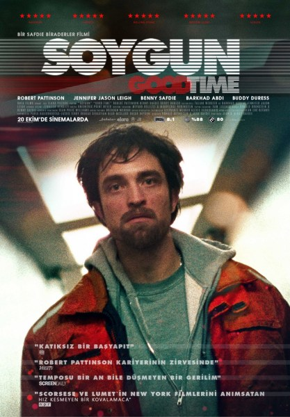 Good Time Turkish Poster