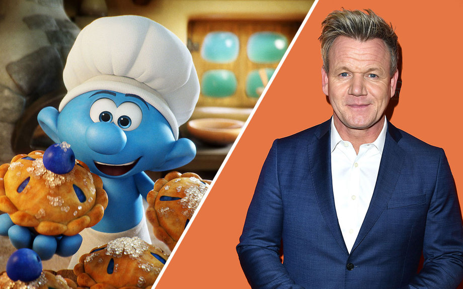 smurfs the lost village movie voice cast and characters