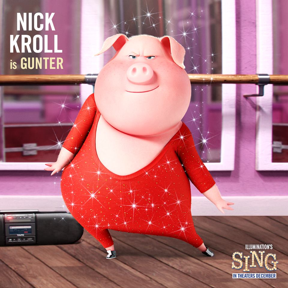 Sing Movie Voice Cast And Characters Teaser Trailer