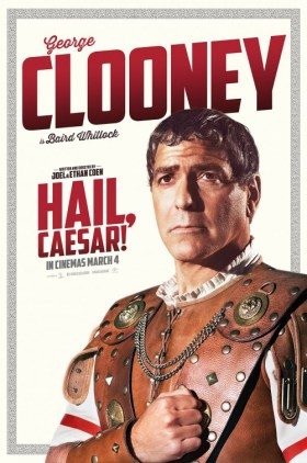 Hail Caesar Character Poster - George Clooney