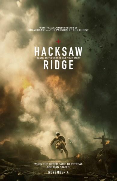 Haksaw Ridge Movie Poster