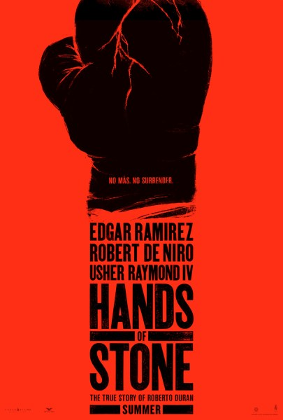 Hands of Stone Movie Poster