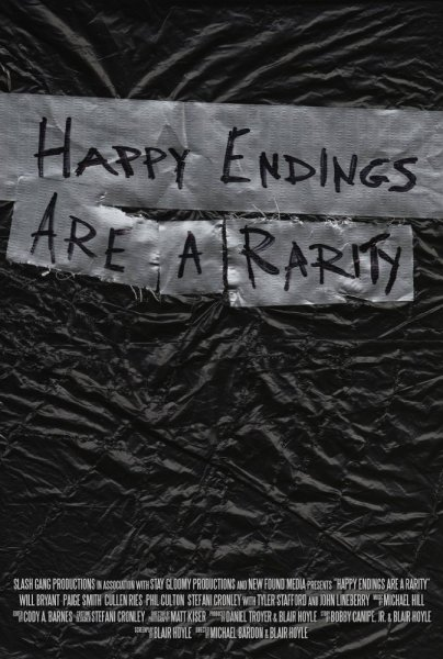 Happy Endings Are A Rarity Movie Poster