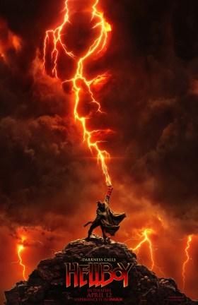 Hellboy 2019 IMAX Poster