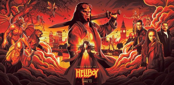 Hellboy Banner Poster