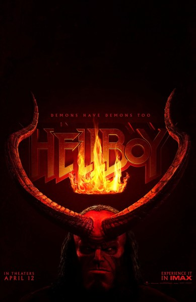 Hellboy New Teaser Poster