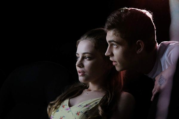 Hero Fiennes Tiffin And Josephine Langford In After Movie