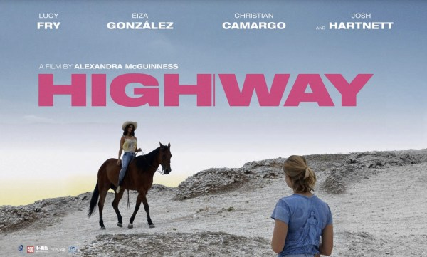 Highway Movie Poster - It's my desert. You're just visiting.