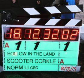 Hollow In The Land Film Clapperboard