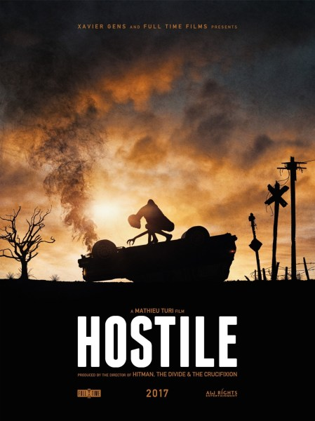 Hostile Movie Teaser Poster