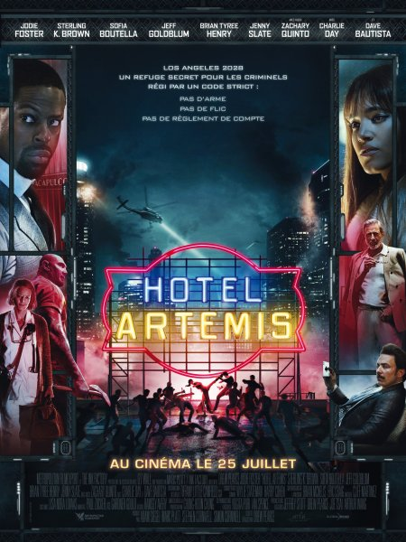 Hotel Artemis French Poster