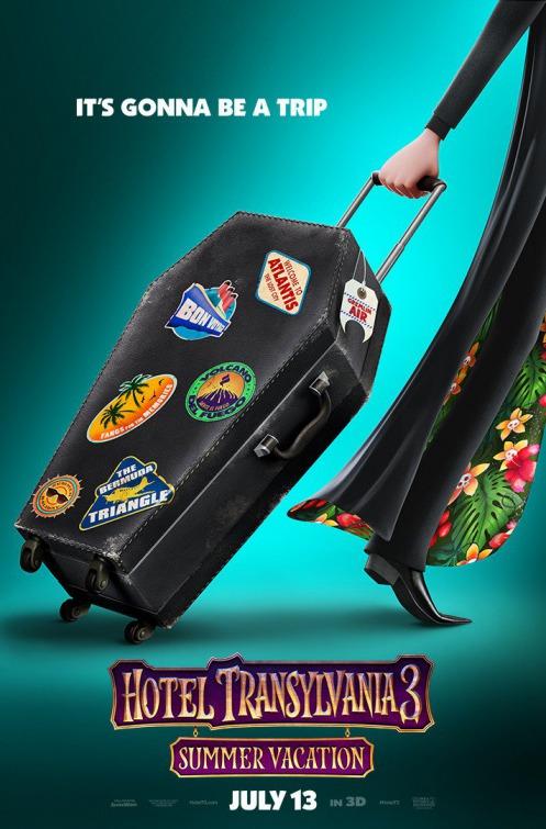 Hotel Transylvania 3 Summer Vacation Poster Teaser Trailer
