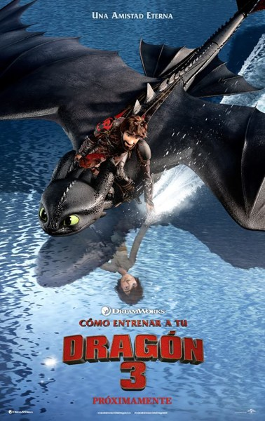 How To Train Your Dragon 3 New Film Poster