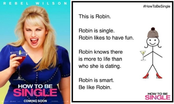 How to be Single - Robin