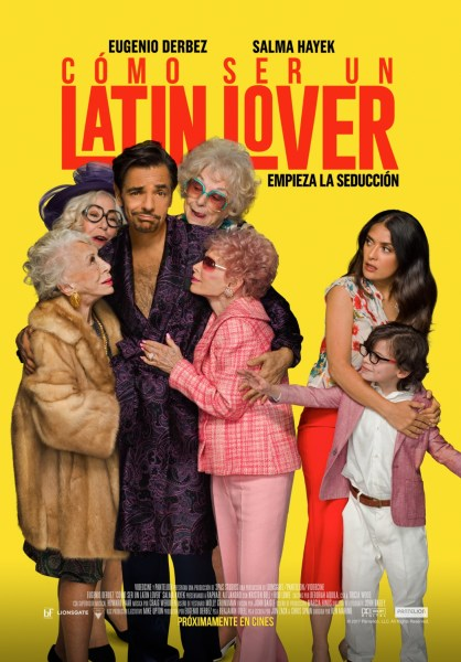 How To Be A Latin Lover International Poster