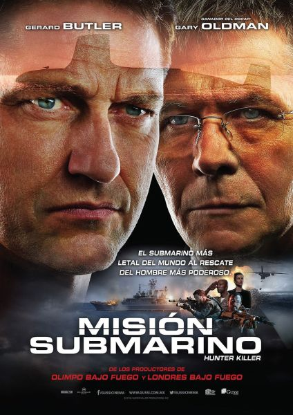 Hunter Killer Mexico Poster