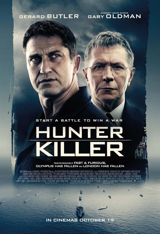 hunter killer movie poster teaser trailer