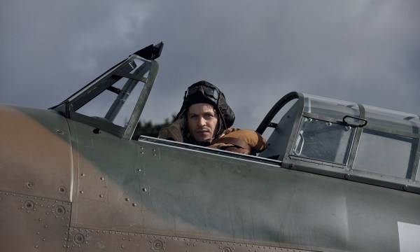 Hurricane movie starring Iwan Rheon as a WWII plane pilot.