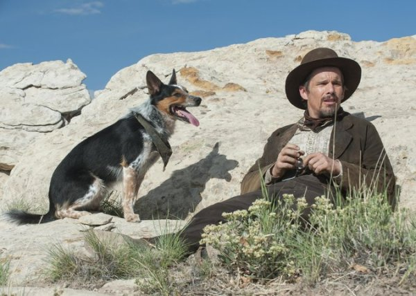 In A Valley of Violence movie - Ethan Hawke