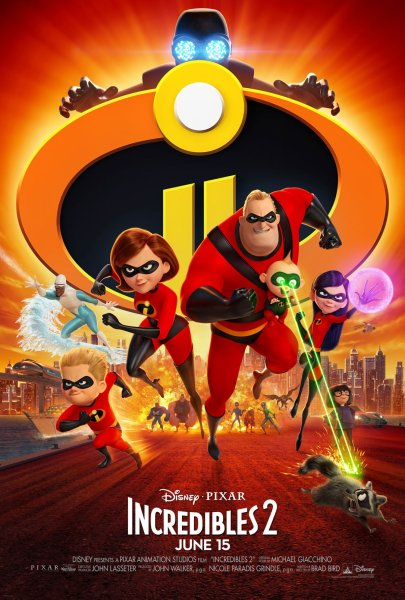 Incredibles 2 New Film Poster