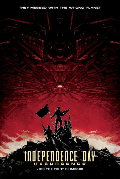 Independence Day 2 IMAX Poster
