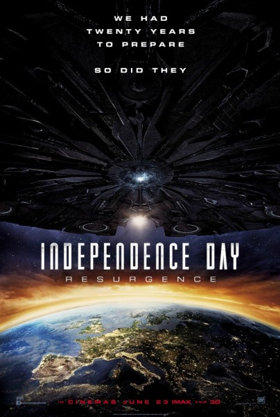 Independence Day 2 New Poster - Europe