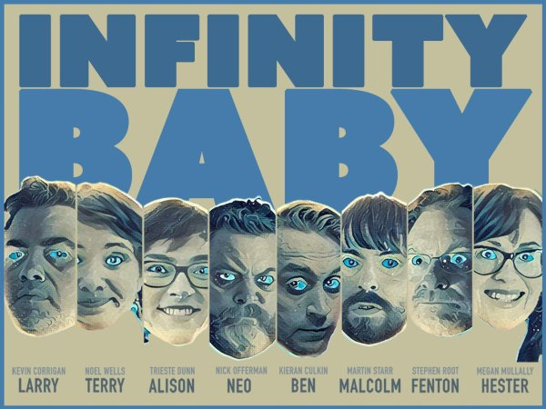 Infinity Baby Banner Poster