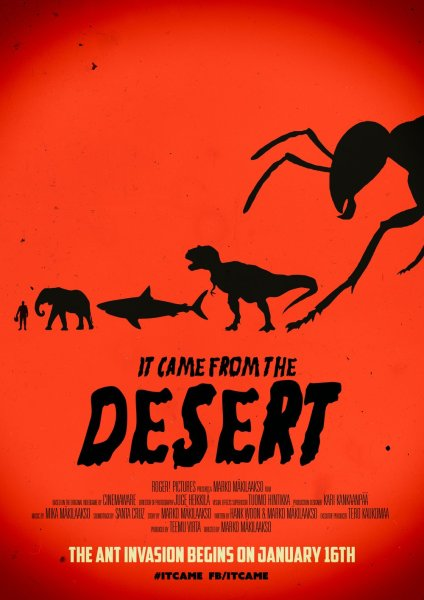 It Came From The Desert New Reddish Poster