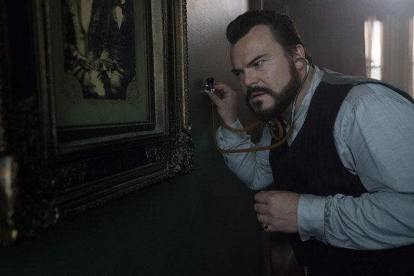 Jack Black in the movie The House With A Clock In Its Walls