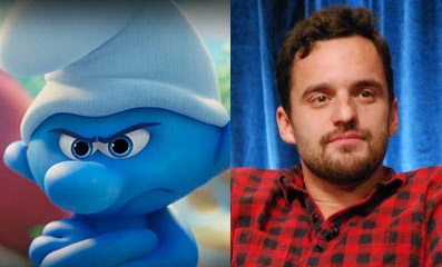 Jake Johnson As Grouchy Smurf