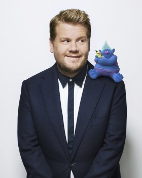 James Corden in Trolls