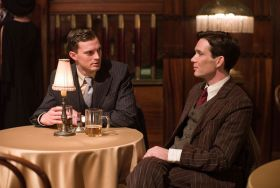 Jamie Dornan (left) and Cillian Murphy in Anthropoid