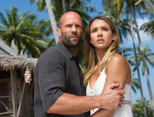 Jason Statham and Jessica Alba - Mechanic Resurrection Movie