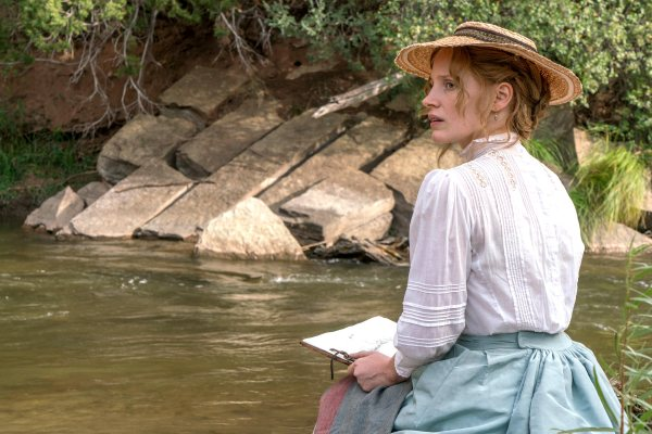 Woman Walks Ahead (2018) - Jessica Chastain