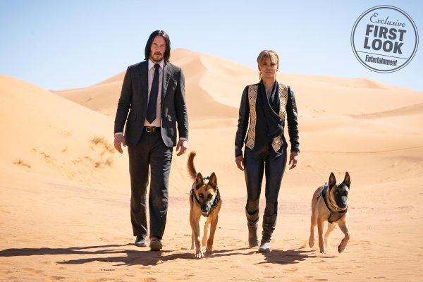 John Wick 3: Parabellum - Keanu Reeves And Halle Berry