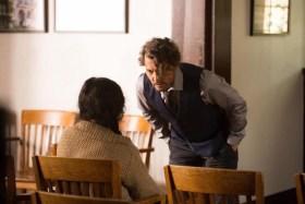 Johnny Depp and Matreya Scarrwener In The Professor