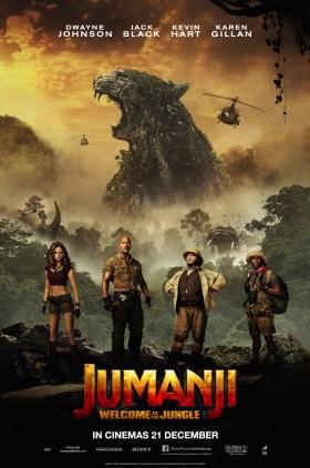Jumanji Malaysian Poster