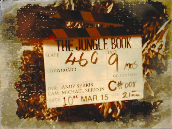 Jungle Book Origins Film Clapper