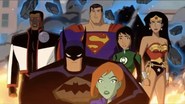Justice League Vs. The Fatal Five Movie
