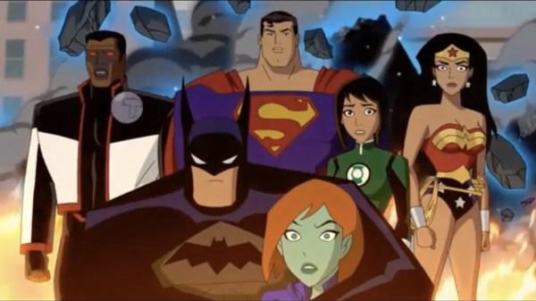 Justice League Vs. The Fatal Five Movie
