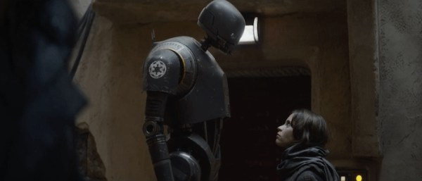 K2SO and Jyn Erso - Star Wars Rogue One