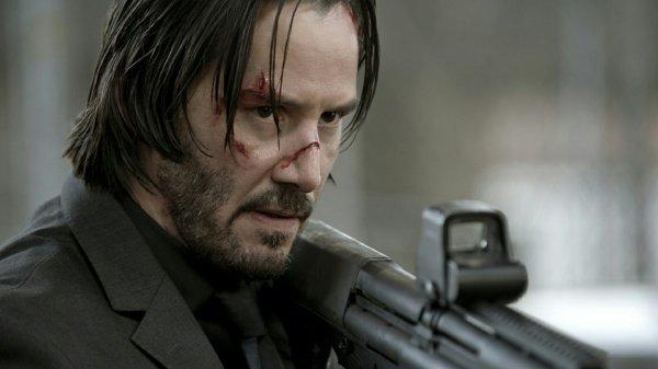 Keanu Reeves = John Wick 2 Gun Fu