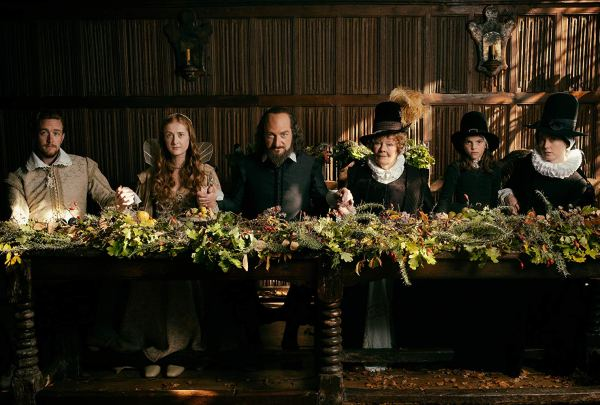 Kenneth Branagh, Judi Dench, Lydia Wilson, Jack Colgrave Hirst, Kathryn Wilder, and Eleanor De Rohan in All Is True