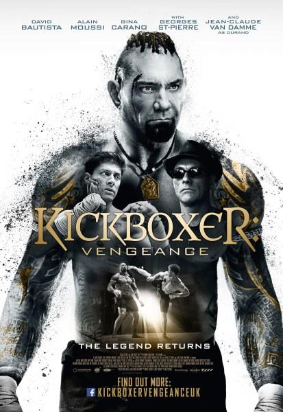 Kickboxer Vengeance New Poster