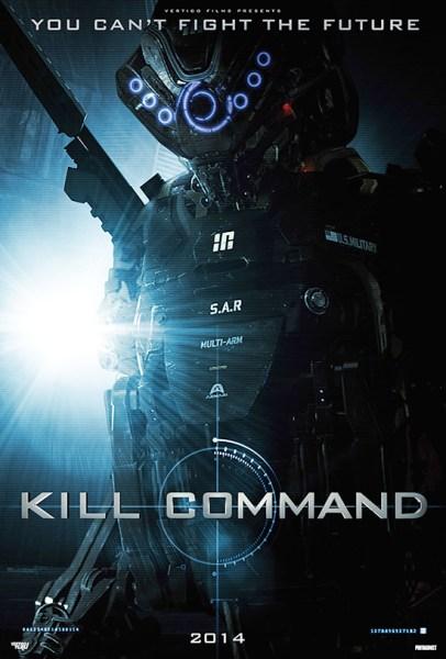 Kill Command Teaser Poster