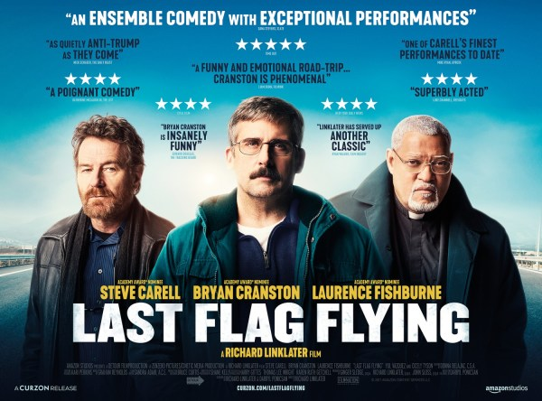 Last Flag Flying UK Banner Poster