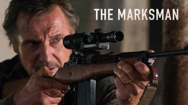 Liam Neeson The Marksman Movie 2021